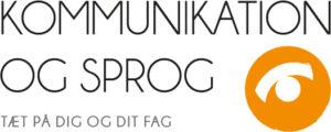 Kommunikation og Sprog logo