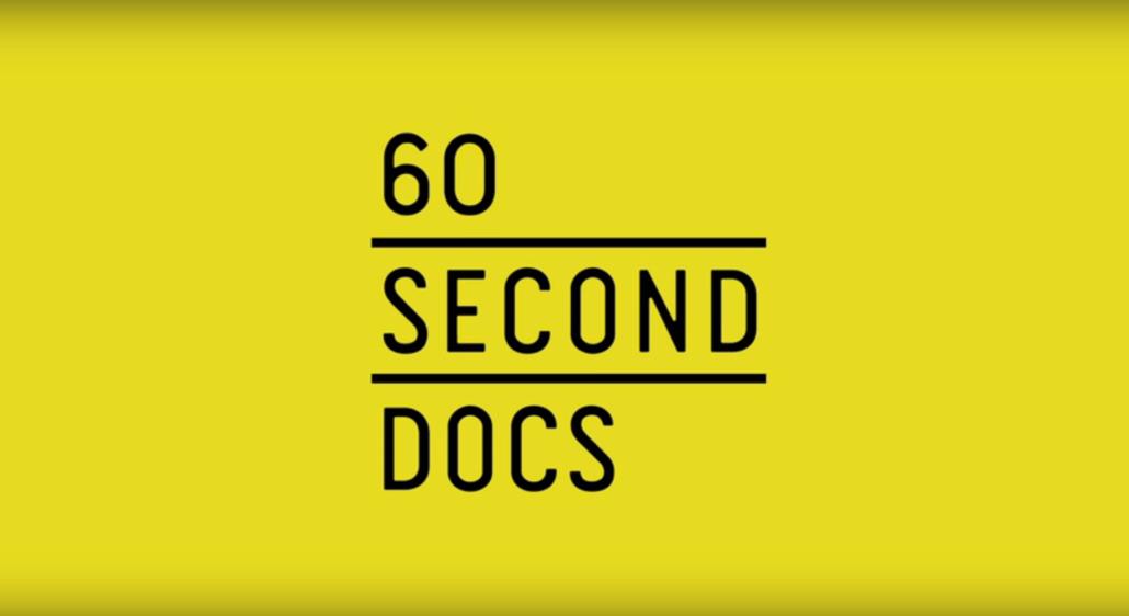 5 inspirerende profiler der bruger video - 60 secons docs